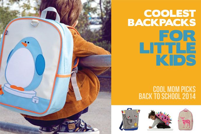 16 of the coolest backpacks and bags for preschoolers | Back to School 2014 on coolmompicks.com