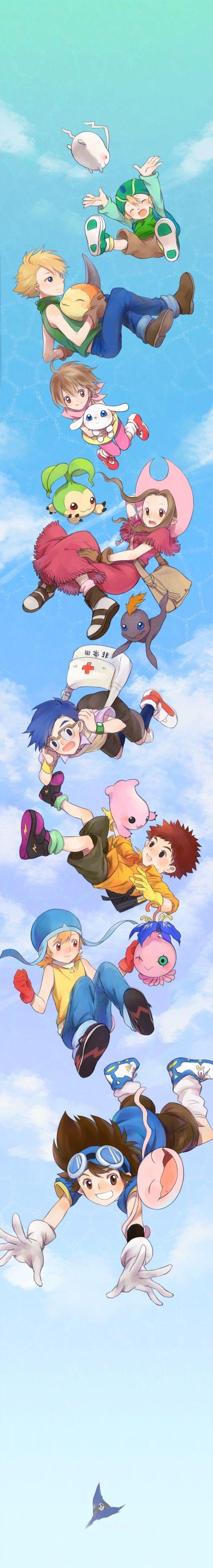 Digimon Adventure #Manga #Illustration #Anime