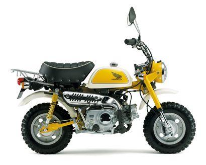 Honda|バイク|モンキー|タイプカラー