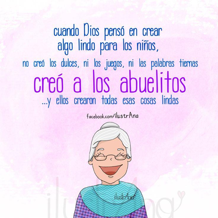 Feliz día de los abuelos #FelizDiaDelosAbuelos #DíadelAdultoMayor #DíadelAbuelo #abuelo #abuela #draw #grandmother #grandfather #illustration #ilustrana