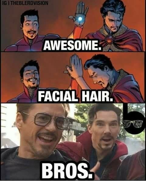 It is now a thing!  Robert Downey Jr. and Benedict Cumberbatch.