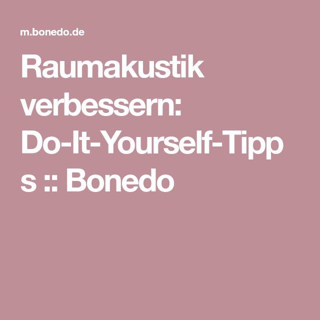 Raumakustik verbessern: Do-It-Yourself-Tipps::Bonedo