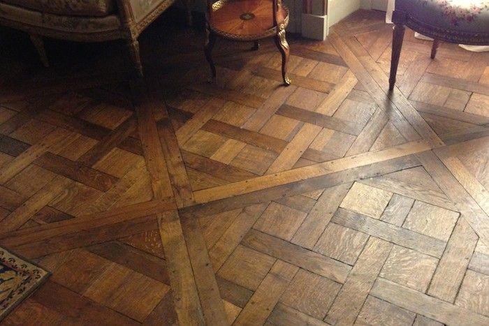 Versailles Parquet Wood Floor, Remodelista http://www.remodelista.com/posts/remodeling-101-wood-flooring-patterns