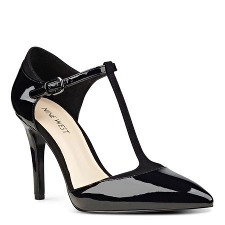 Our Tatum d'Orsay pointy toe pumps sport a slim T-strap for an added touch of sophistication.