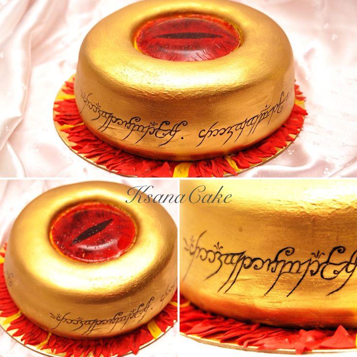 """Торт для поклонников Толкиена. """"Властелин колец"""""""