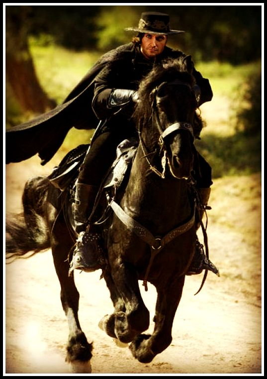 Zorro Antonio Banderas On Horse 29 best images about R...