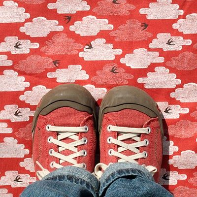 Keen Shoes. I own at least a dozen pairs of Keen shoes, sandals, and boots. I love the way they look and they are so comfortable.