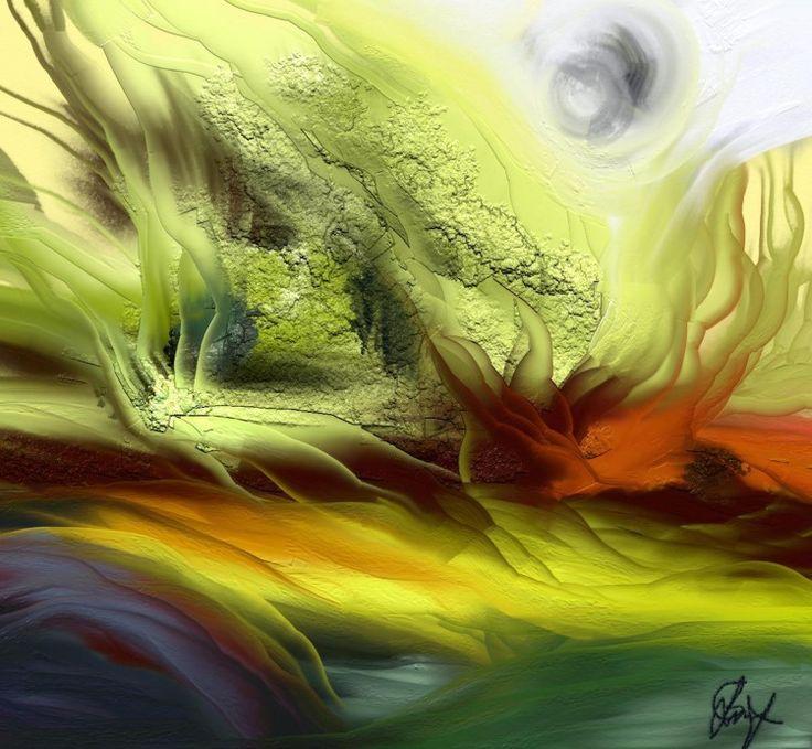 FANTASY (Arts numériques) par Gabriela Simut digital art,paysage, colors, fantasy