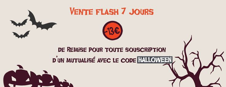 Vente flash Halloween hébergements mutualisés