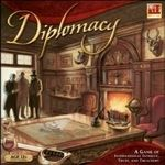 Diplomacy -- WWI game of strategy and negotiation.  I love the lack of luck as a factor in this game.
