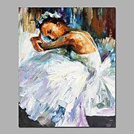 rust+even+acryl+schilderen+op+canvas+doek+witte+kleur+ballerina+meisje+omlijst+met+brancard+2+grootte+voor+de+slaapkamer+kunst+aan+de+muur+–+EUR+€+57.81