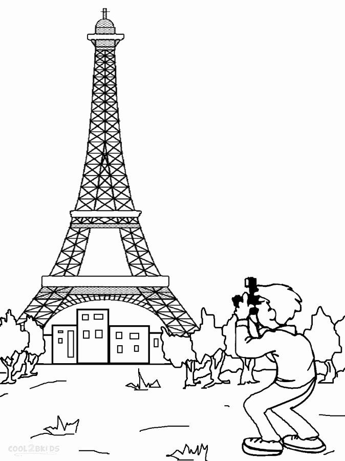 Eiffel Tower Coloring Sheets Awesome Printable Eiffel Tower Coloring Pages For Kids Coloring Pages Coloring Pages For Kids Eiffel Tower Pictures