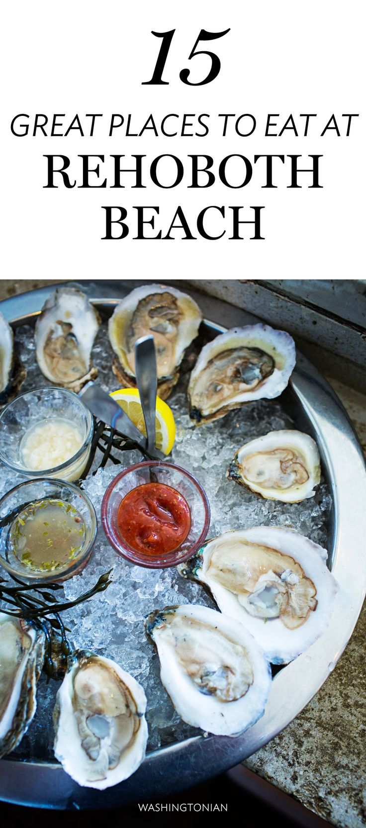 What Hank's Oyster Bar is to DC, Henlopen City is to Rehoboth—a nightly party, a spot to slurp oysters or indulge in a full meal | Washingtonian