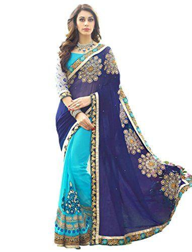 PSD Saree Sari Designer Indian Dress Bollywood Ethnic Party Traditional