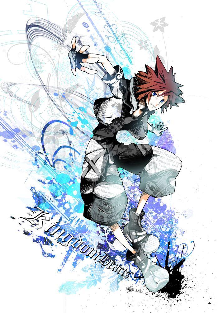 Kingdom Hearts Sora Kingdom Hearts Collection Pinterest