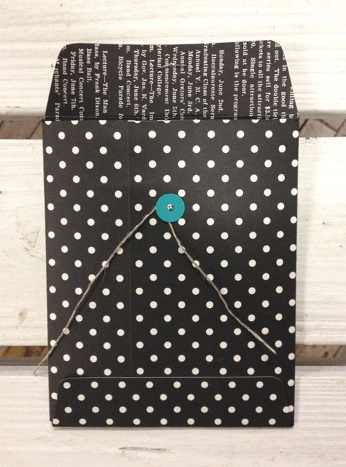 I found this on stampinup.com - make all types of sizes and envelopes with the new envelope punch board