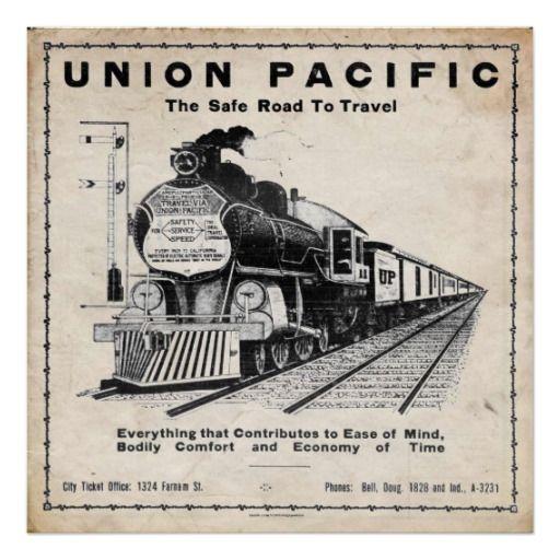 20 best all aboard images on pinterest poster vintage for Vintage train posters