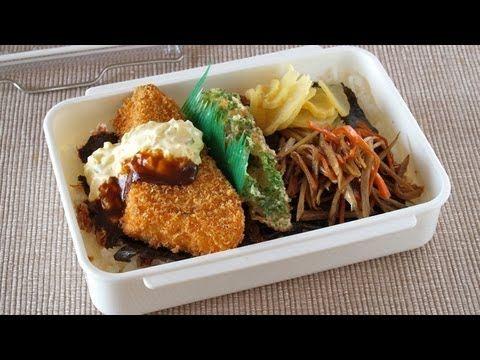 How to Make Bento Lunch Box (Noriben Recipe) ほっともっと風のり弁当を作ってみた♥
