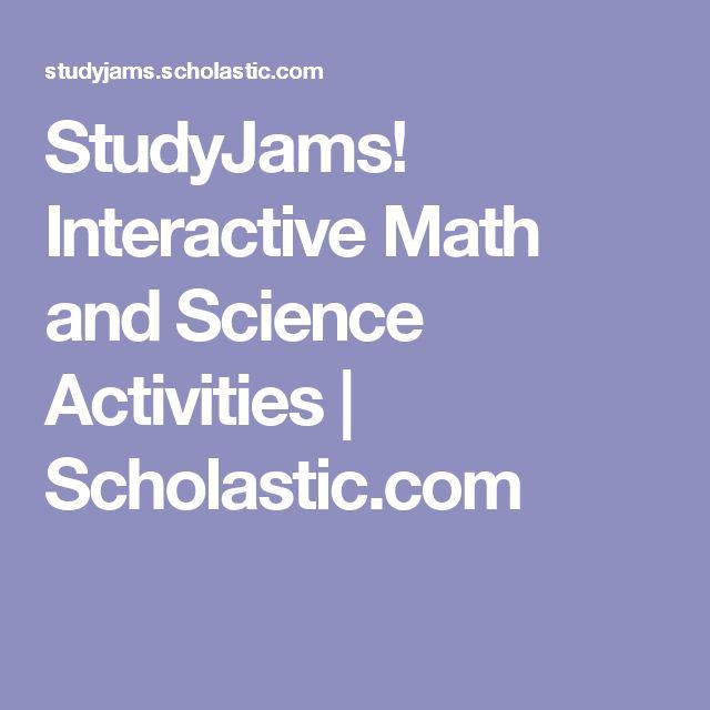 StudyJams! Interactive Math and Science Activities | Scholastic.com