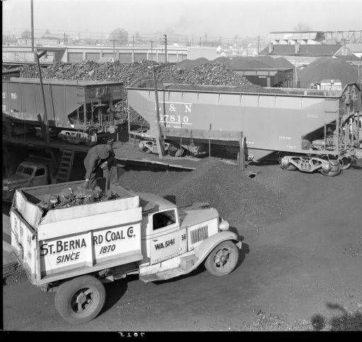 St. Bernard Coal Co. Photo Of Views Of Coal Yard. :: Royal