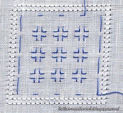 Italian Needlework: Reticello /2/