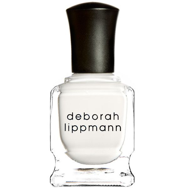 Deborah Lippmann Amazing Grace Nail Polish ($19) ❤ liked on Polyvore featuring beauty products, nail care, nail polish, makeup, nails, beauty, fillers, deborah lippmann, deborah lippmann nail lacquer and deborah lippmann nail color