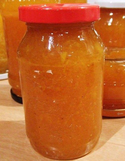 Gyömbéres, narancsos sütőtöklekvár
