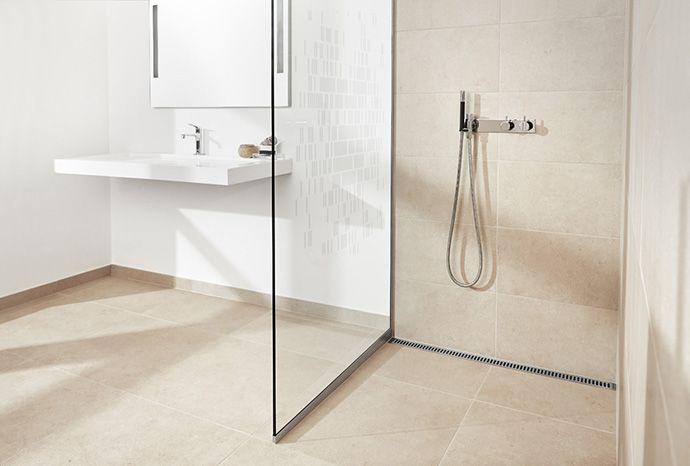 badeværelse kombination fliser filt terrazzo - Google Search