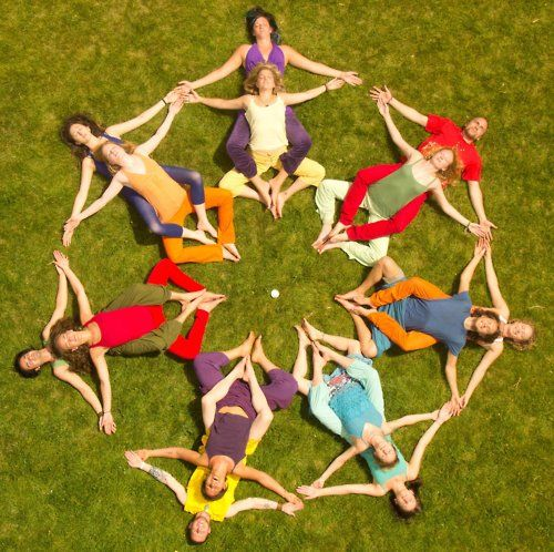 human mandala project / Movement <3 Loved and Pinned by www.downdogboutique.com to our Yoga community boards