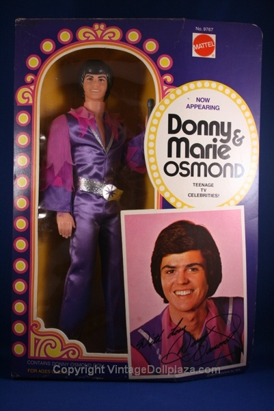 that's right, I had a Donny Osmond doll.  And he had purple socks: Purple Socks, Color, Osmond Doll, Play