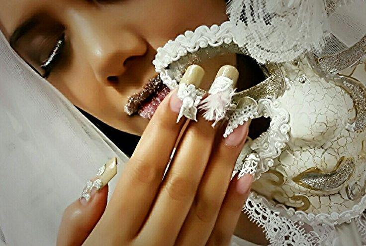 Wedding nails poster