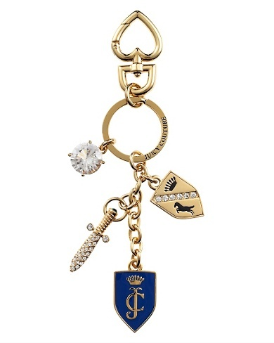 Juicy Couture | Shield & Sword Key Fob <3