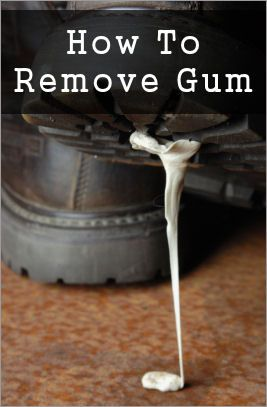 how to remove gum from hair 95 best images about a few home tips on 7792