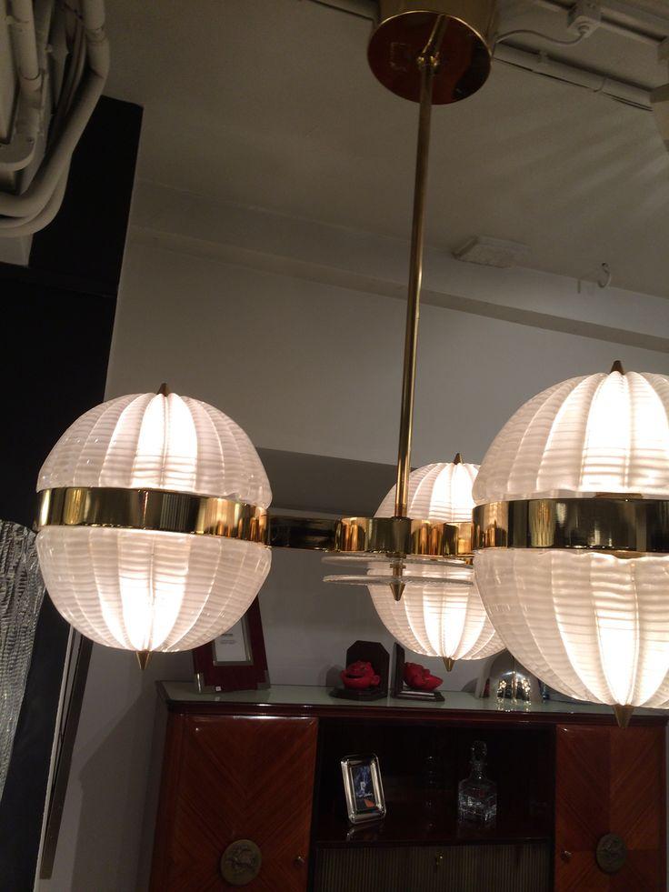 1950s ceiling light