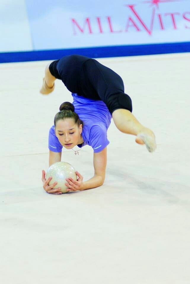 Katsiaryna Halkina (Belarus) # World Cup 2014 #Minsk, Belarus # May 30-31 #training # Pawel Su...