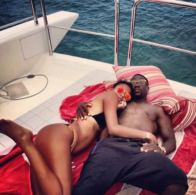 Yacht life: Kevin Hart and Eniko Parrish vacation in Mexico