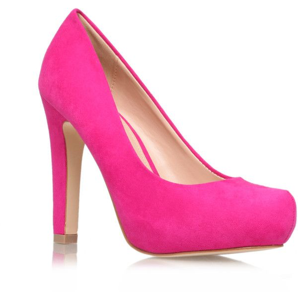 Miss KG Annie  Shoes ($59) ❤ liked on Polyvore featuring shoes, pink, miss kg shoes, miss kg ve pink shoes
