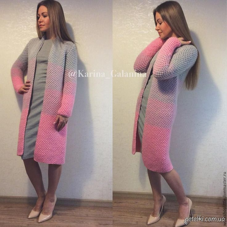 Cardigan Lalo Honey with knitting needles or crochet. How to Knit
