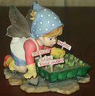 "Enesco My Little Kitchen Fairie ""Seedling Fairie"" 2006 figurine - http://www.kitchenfairies.net/kitchen-fairies-for-sale-on-ebay/enesco-my-little-kitchen-fairie-seedling-fairie-2006-figurine/"