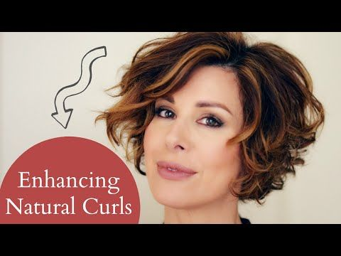 Bouncy Short Hair Tutorial - YouTube