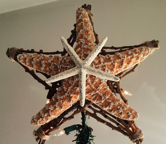 86 best Starfish TREE TOPPER images on Pinterest | Starfish ...