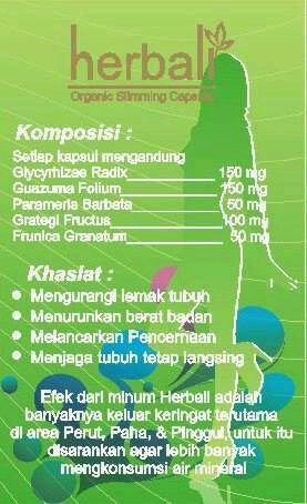 Komposisi Herbali.. 100% akar rempah tanah air. More info PIN 2169e079 :)