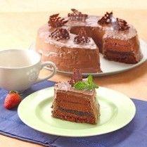 CAKE COKELAT PUTIH TELUR Sajian Sedap