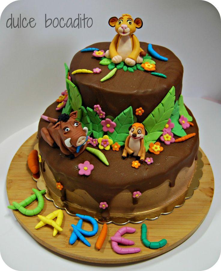 Dulce bocadito: ♥ Tarta de El Rey León, la mejor peli de Disney o ...