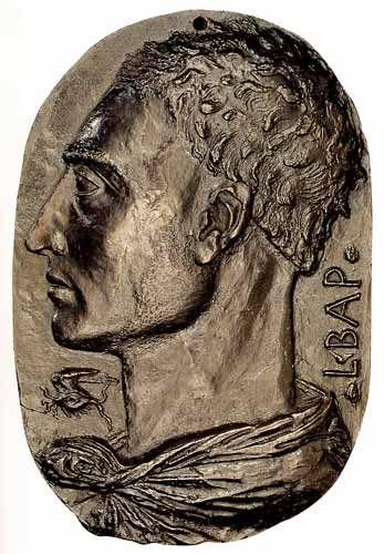 Leon Battista Alberti Self Portrait