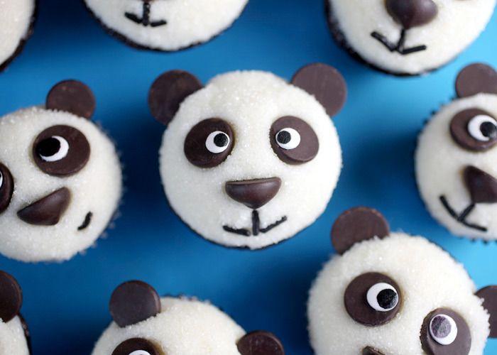 Panda cupcakes