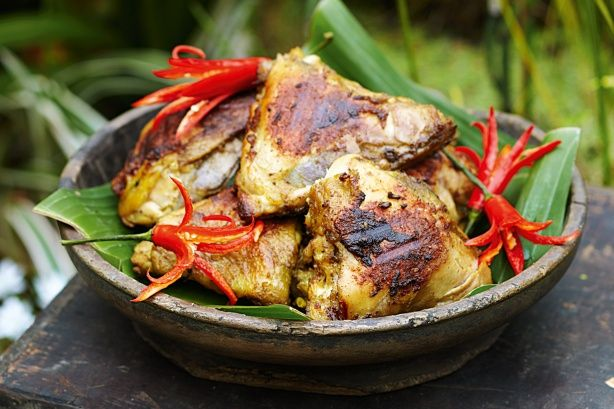 Take your tastebuds on a trip to the exotic with this aromatic chicken dish.