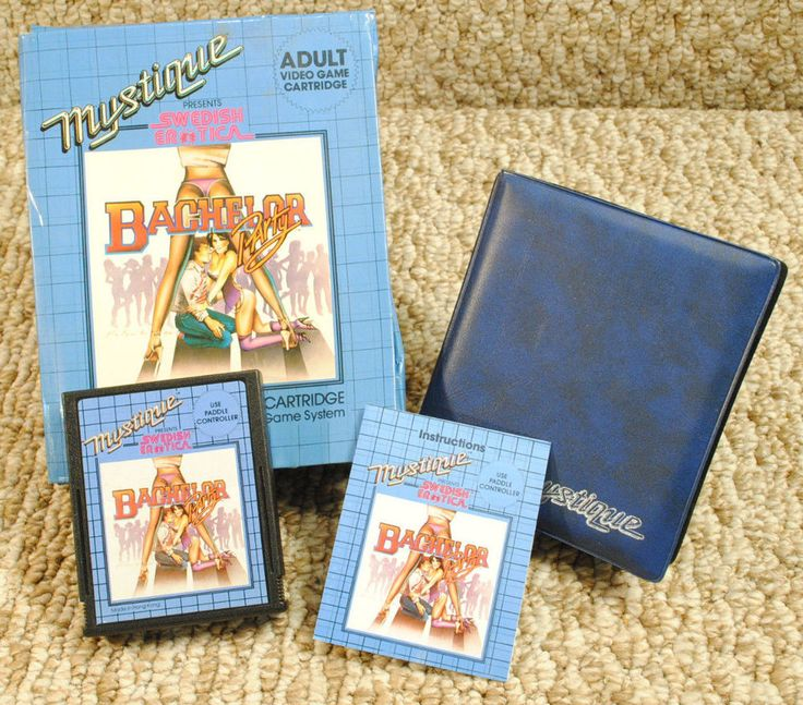 Rare #atari 2600 Bachelor Party Video Game Mystique Swedish Erotica Ships Free!!  from $99.99