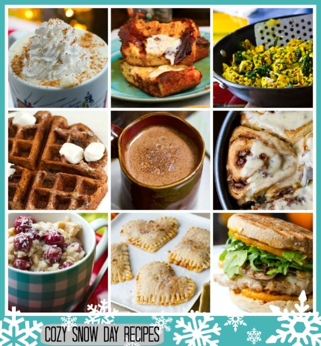Snow Day? Warm up with these cozy breakfast recipe ideas! #vegan