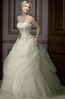 Demetrios Young Sophisticates 2795 Wedding Dress $1,200. very Cinderella. available in gold!